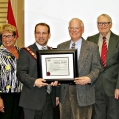 2012 - Brian Porter, Linda Eyre, Brockville Mayor David Henderson, Doug Smith, Doug Grant, Dave LeSu